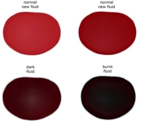 how to check transmission fluid colors