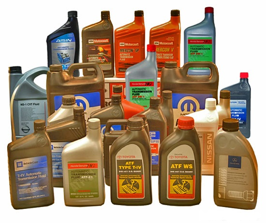 automatic transmission fluid types
