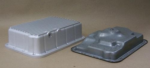 deep transmission pan vs stock transmission pan